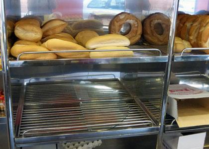 Bandejas de panadería en acero inoxidable