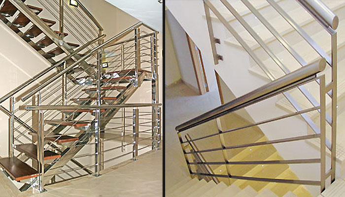 Barandillas interiores barandillas reformas en granada - Barandas para escaleras interiores ...