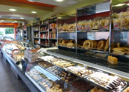 Expositores de panadería en acero inoxidable